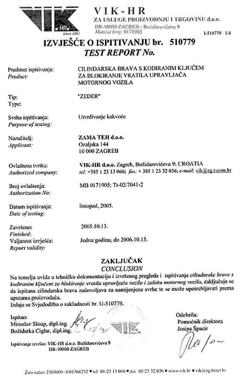 A Szerb közlekedési ministérium elismerése
